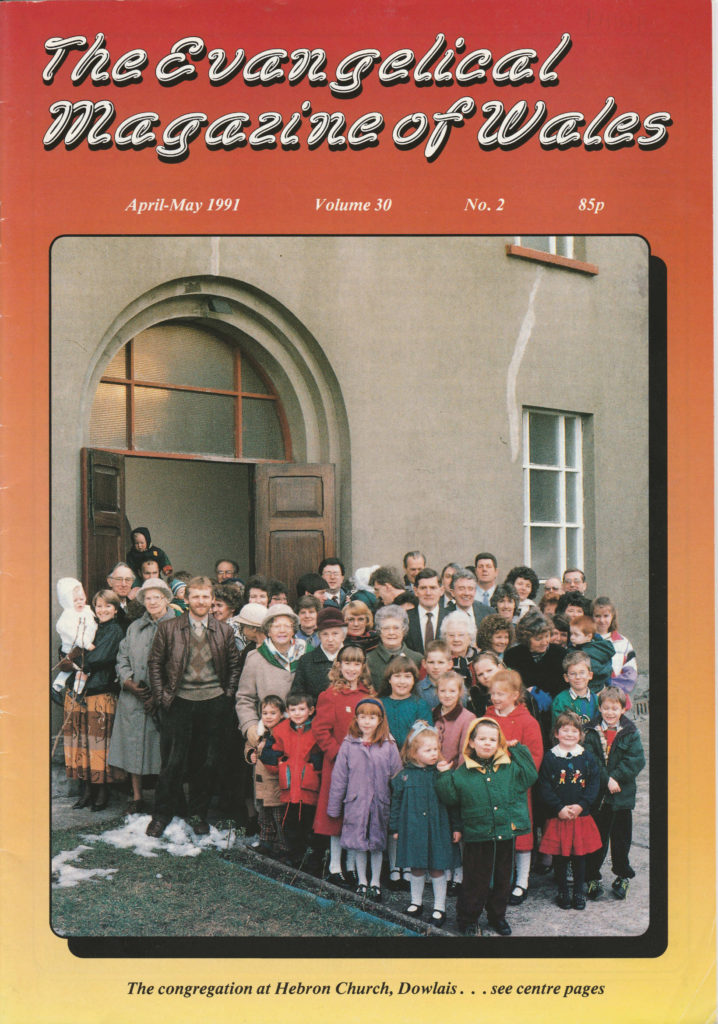 Hebron on the cover of the Evangelical Magazine of Wales