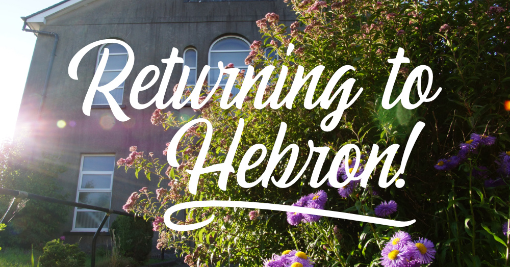 Returning to Hebron