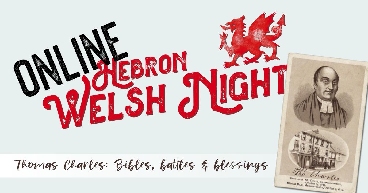 Online Hebron Welsh Night 2021